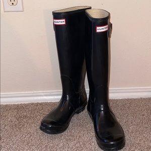 Hunter Rainboots   size 7   like new